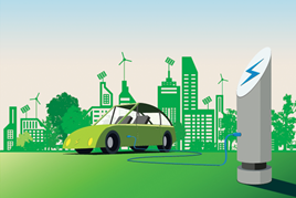 electric car future cities