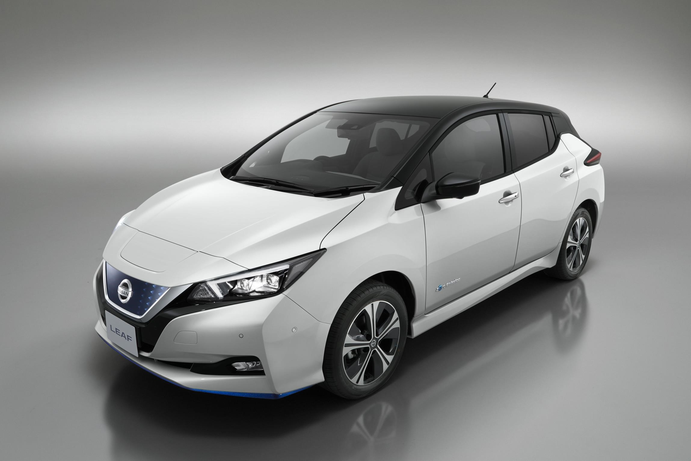 Adver Nissan Has Launched A Leaf Electric Car