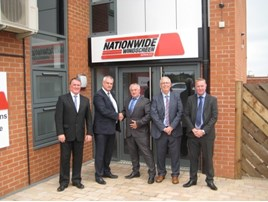 Pictured: (L) Steve Montague TCH, Mark Hammond TCH, Andy Hodge NWS, Steve Greenway NWS, Chris Nightingale TCH.