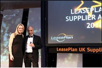 Prestige Fleet Servicing, LeasePlan supplier award.