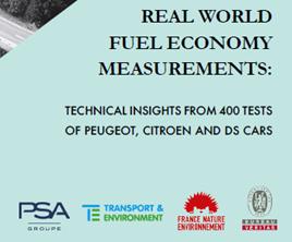 Real World Fuel Economy Measurements report 2017