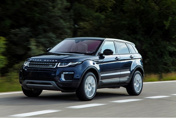 first drive range rover evoque 2 0 ed4 se tech car review company car reviews. Black Bedroom Furniture Sets. Home Design Ideas