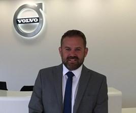 Steve Beattie, head of business sales of Volvo