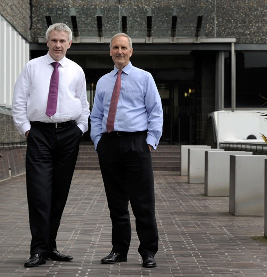 Chris Thornton,sales director and David Wilson, managing director at DriveTech.