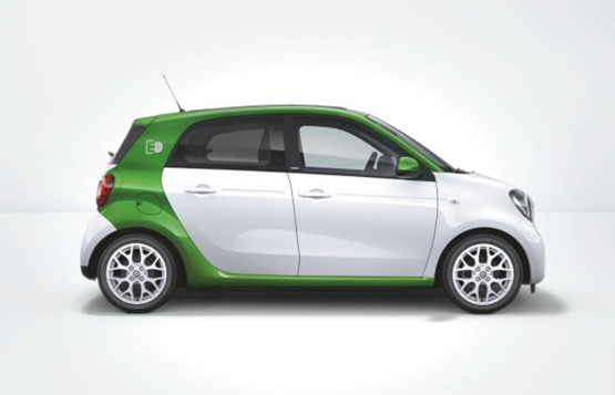 Smart Forfour plug-in 2017