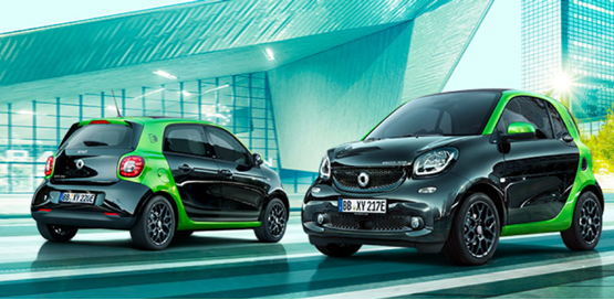 Smart Fortwo plug-in 2017