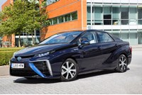 Toyota Mirai becomes first hydrogen-fuelled electric car eligible for the plug-in car grant