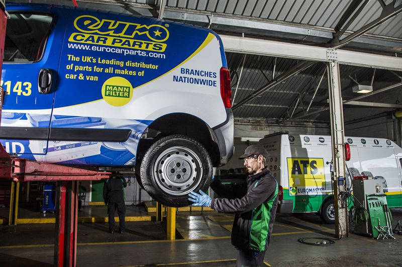 Commercial Truck Sales >> Euro Car Parts appoints ATS Euromaster to look after its tyres | Van News