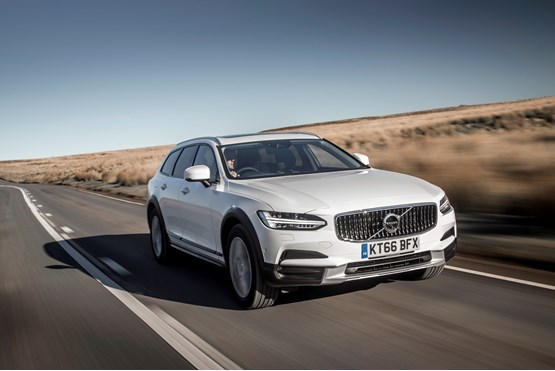 Jobs Driving Cars Cross Country >> First drive: New Volvo V90 Cross Country company car review   Company Car Reviews