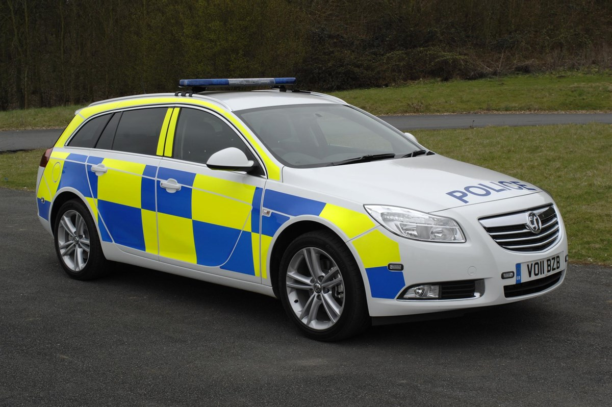 Vauxhall Demo For French Police Fleet News Manufacturer
