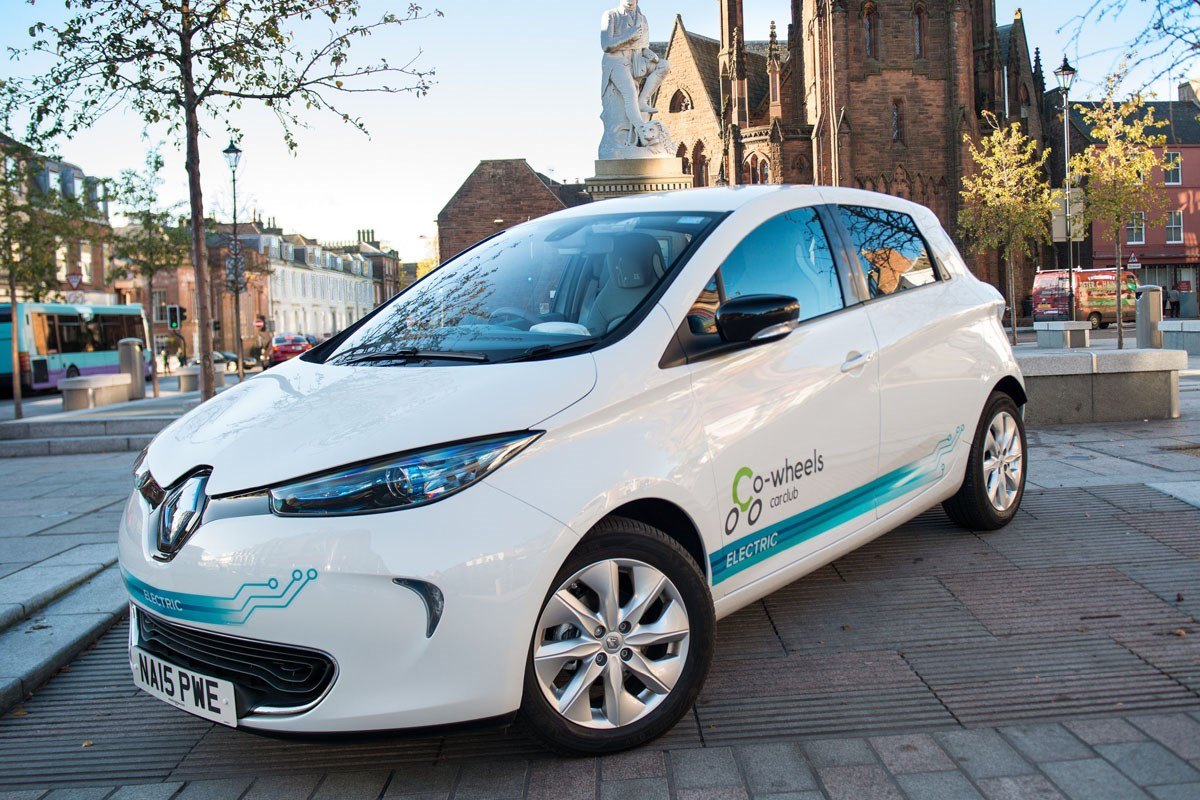 Co Wheels Adds 20 Electric Renault Zoes To Car Sharing