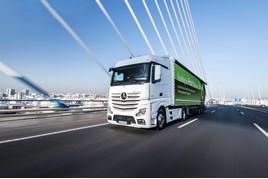 Driven: Mercedes-Benz Actros truck review (gallery)   Trucks