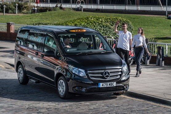 Mercedes Launches 2017 Vito Taxi In London Van News