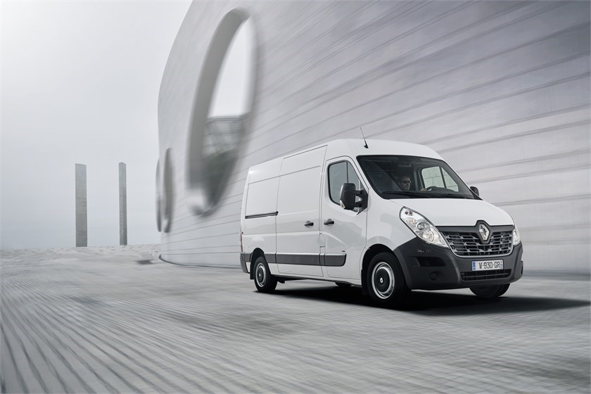 First Team Toyota >> First look: Renault Master ZE electric panel van preview | Large Panel Vans