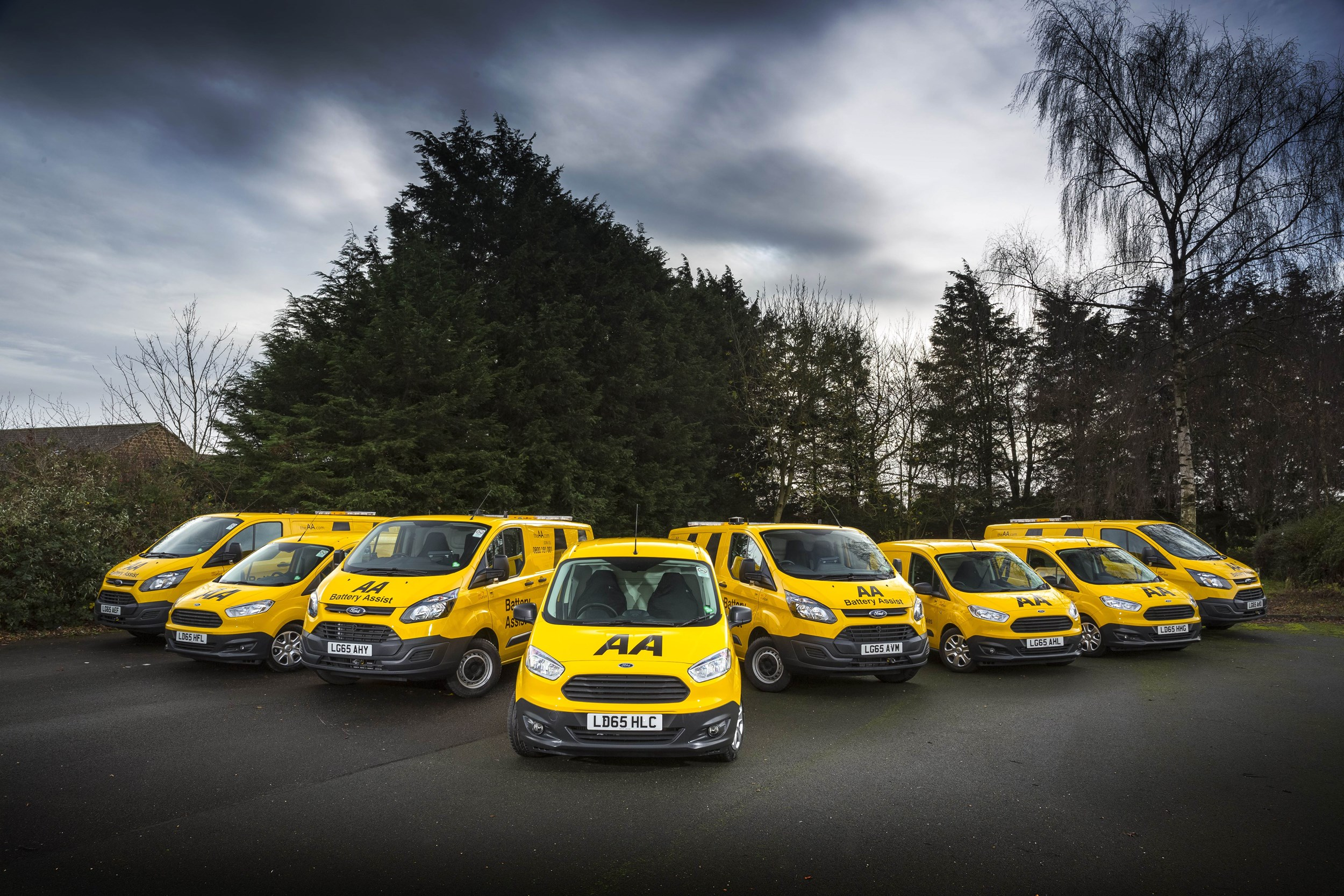 Transit Custom And Courier Vans Added To Aa Fleet Van News