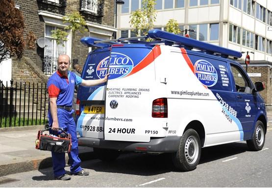 van fleet profile  pimlico plumbers
