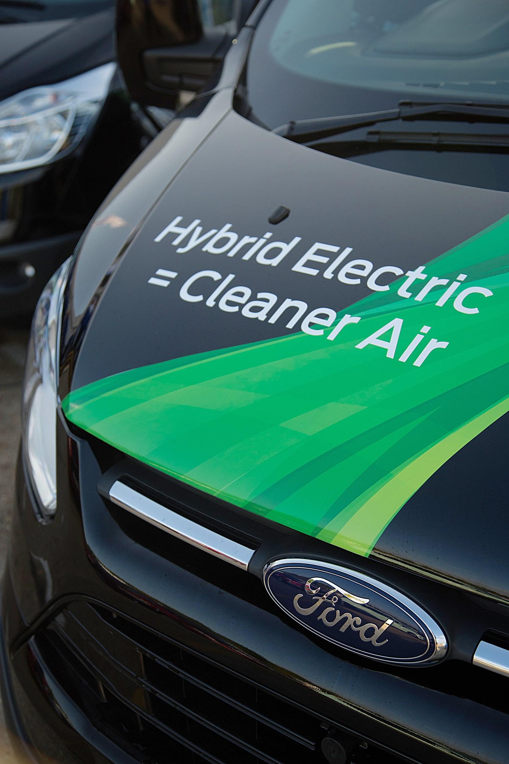 Ford Transit Plug In Hybrid Makes Public Debut Van News