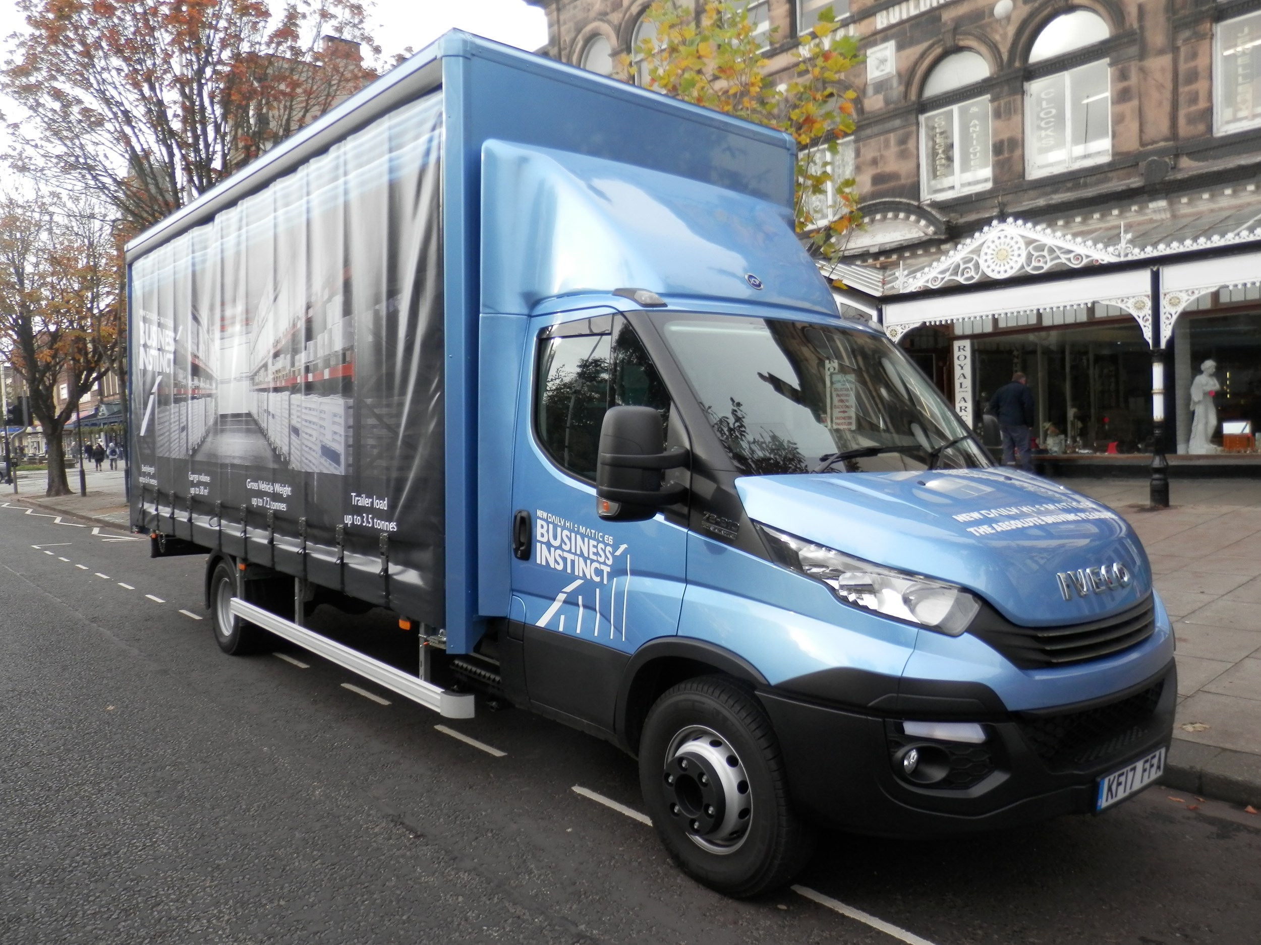 Driven: Iveco Daily 7.2 tonne truck review | Trucks