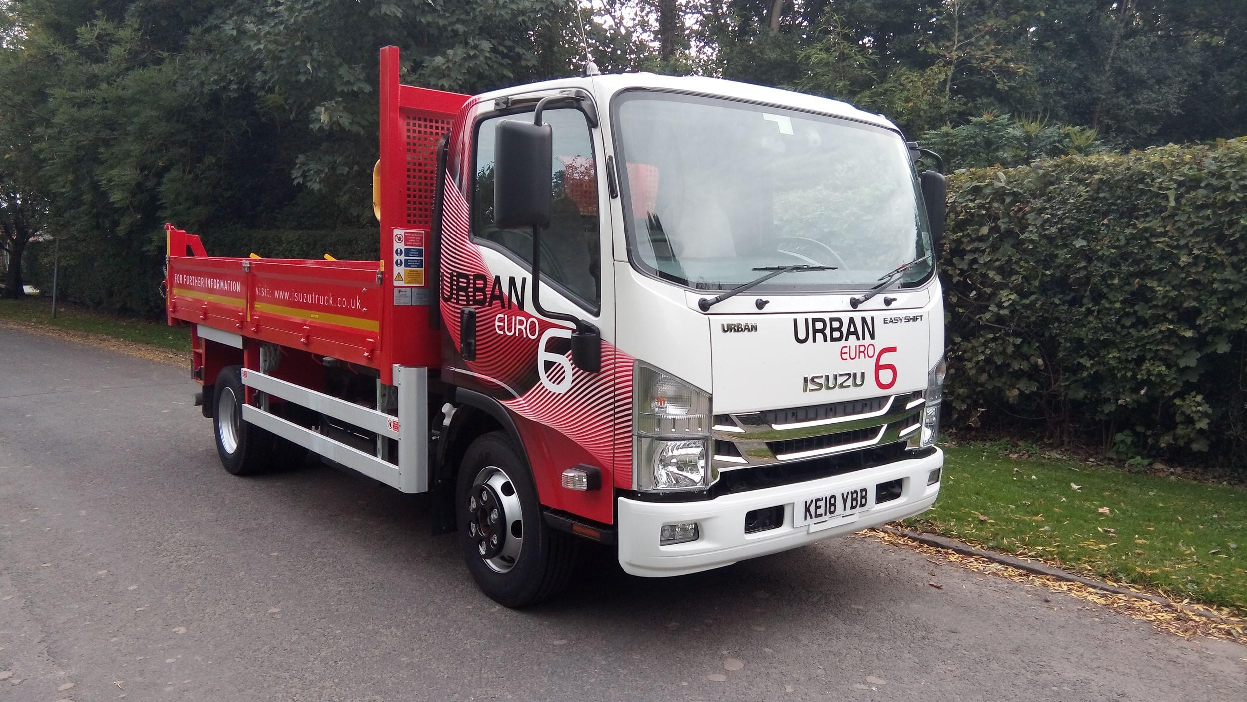 Isuzu maximises payload with Urban Tipper, truck test | Trucks