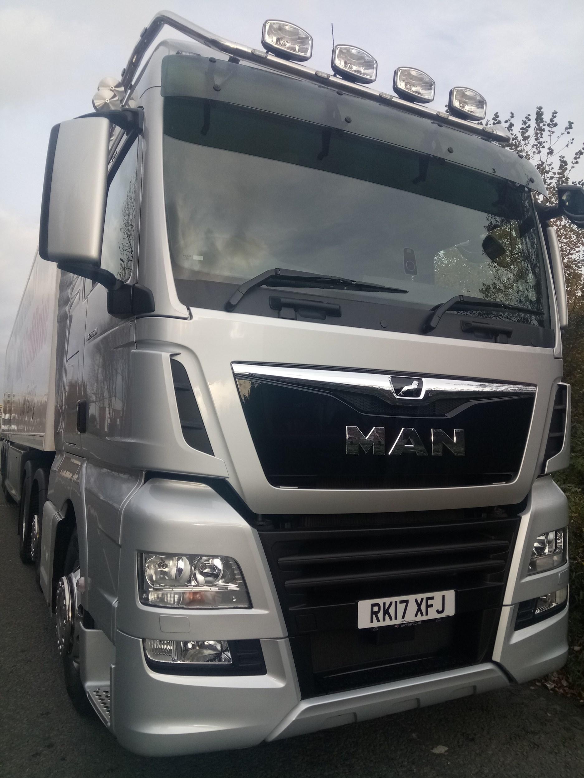 Driven: MAN TGX | Trucks