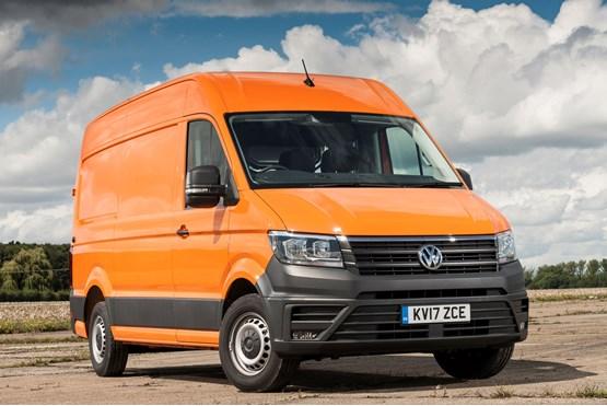 volkswagen crafter named best van by parkers van news. Black Bedroom Furniture Sets. Home Design Ideas