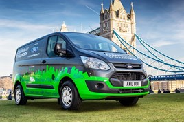 Plug-in hybrid Transit Custom