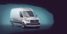 new Mercedes-Benz Sprinter.
