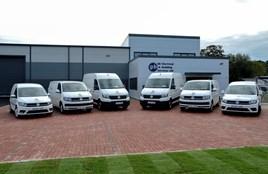 GB Electrical Volswagen Van fleet