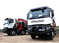 A Staunton Groundworks and Civil Engineering Renault Trucks