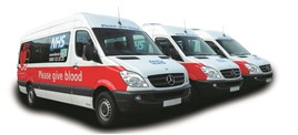 Ast Transport NHS contract 2017 livery