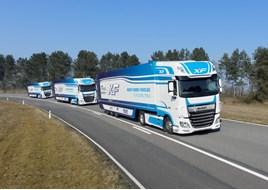 DAF UK platooning truck trials