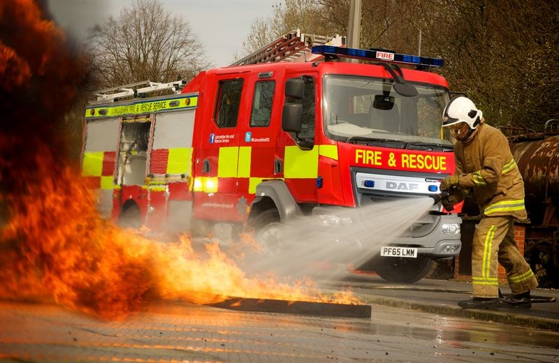 Fleet Truck Sales >> Lancashire Fire & Rescue Service takes on 10 DAF emergency response vehicles | Latest News