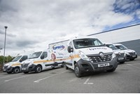 Fraikin supplies Lyreco with Renault Master