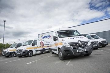 Fraikin supplies Lyreco with Renault Master