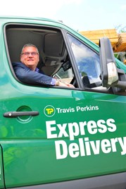 Travis Perkins fleet director Graham Bellman