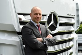 Heiko Selzam national sales director Mercedes-Benz Truck