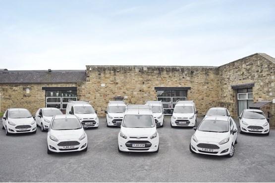 WVR van fleet