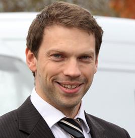 Jonathan Pearce, head of marketing at Northgate Vehicle Hire