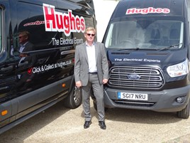 Hughes' service director Mark Coleby
