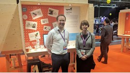 Dan Regan, head of engagement for Lightfoot and Dr Ruth McKernan, chief executive for Innovate UK.