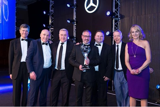 Northside awarded mercedes benz vans retailer of the year for Northside mercedes benz