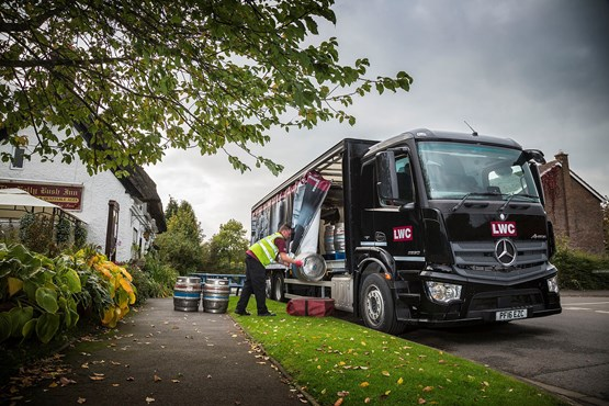 096210f7cc LWC Drinks takes delivery of Mercedes-Benz Antos rigids