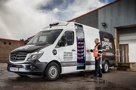 Tiffin Sandwiches takes delivery of five Mercedes-Benz Sprinter vans
