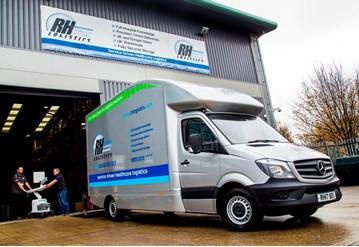 RH Logistics, a specialist transporter of high-value medical equipment, has added three Mercedes-Benz Sprinter 316 CDI Long vans to its fleet.
