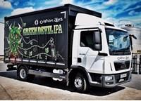 Oakham Ales Man Truck