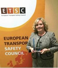 Jacqueline O'Donovan, ETSC award