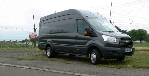 First drive: Ford Transit Jumbo L4H3 Base van review | Large Panel Vans