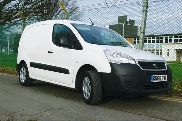 Road test: Peugeot Partner L1 1.6 75 Euro5 Professional van review | Small Vans