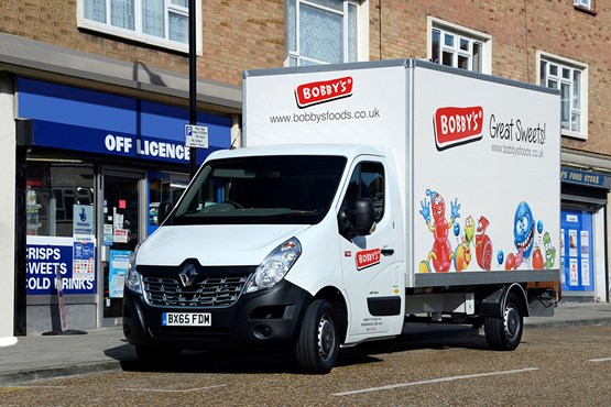 60cb562784 Bobby s Foods has downsized part of its fleet from 7.5 tonne trucks to 3.5  tonne Renault Master box vans.