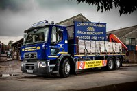 London Reclaimed Brick Merchants Renault Trucks